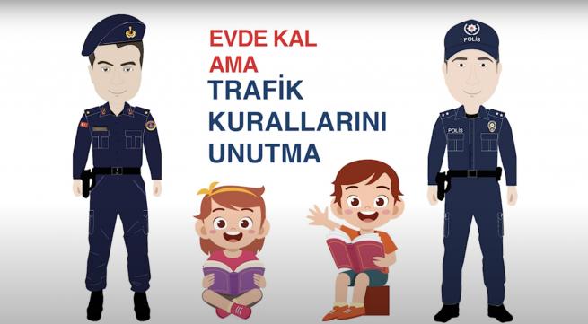 Trafik Haftası Animasyon Kamu Spotu Reklamcılık Bölümümüzden
